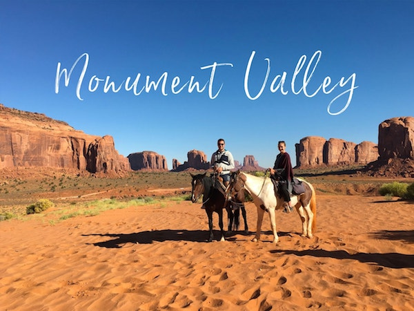 Visiter Monument Valley à cheval | Road trip USA