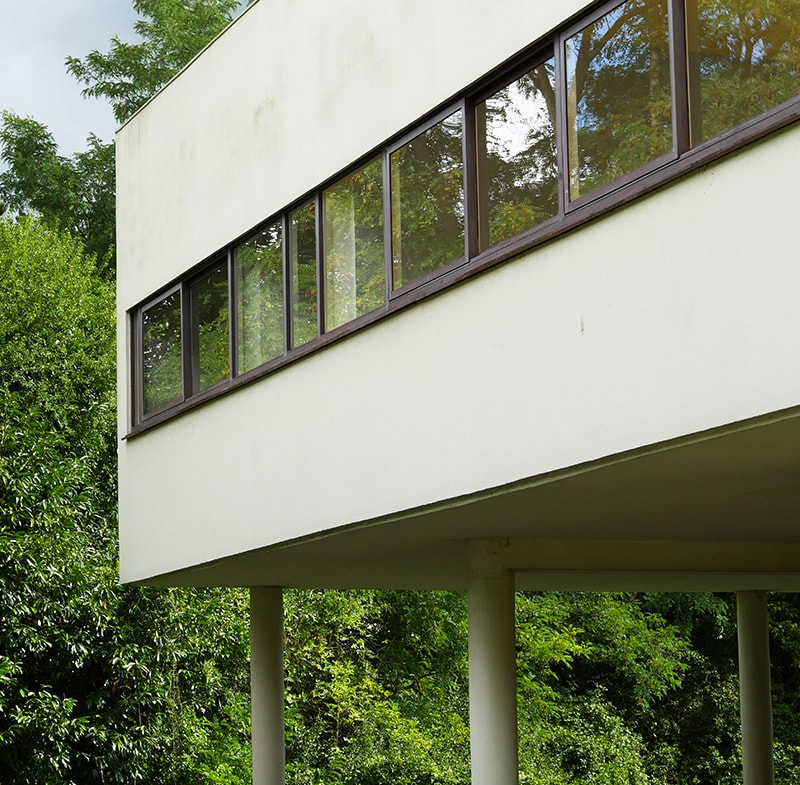 Que faire à Paris ce week-end ? Visiter la Villa Savoye du Corbusier