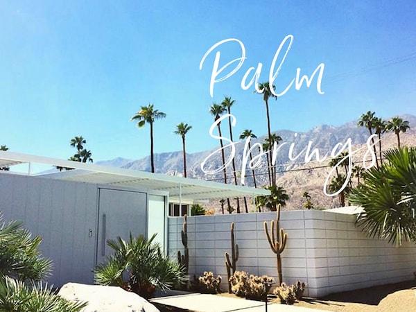 Visiter Palm Springs en passant par la route 66 | Road trip USA