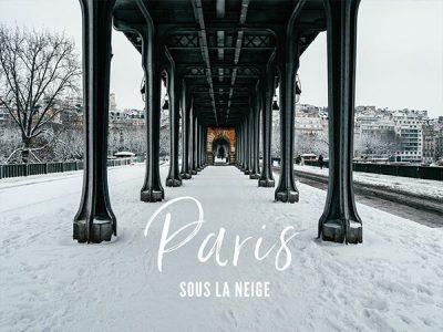 Paris sous la neige 2018 : Nos plus belles photos d'un Paris tout blanc