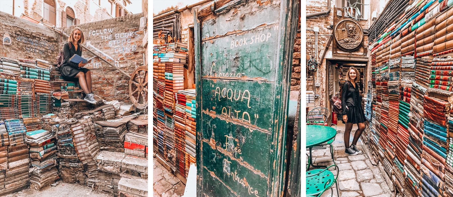 Librairie Aqua Alta Venise