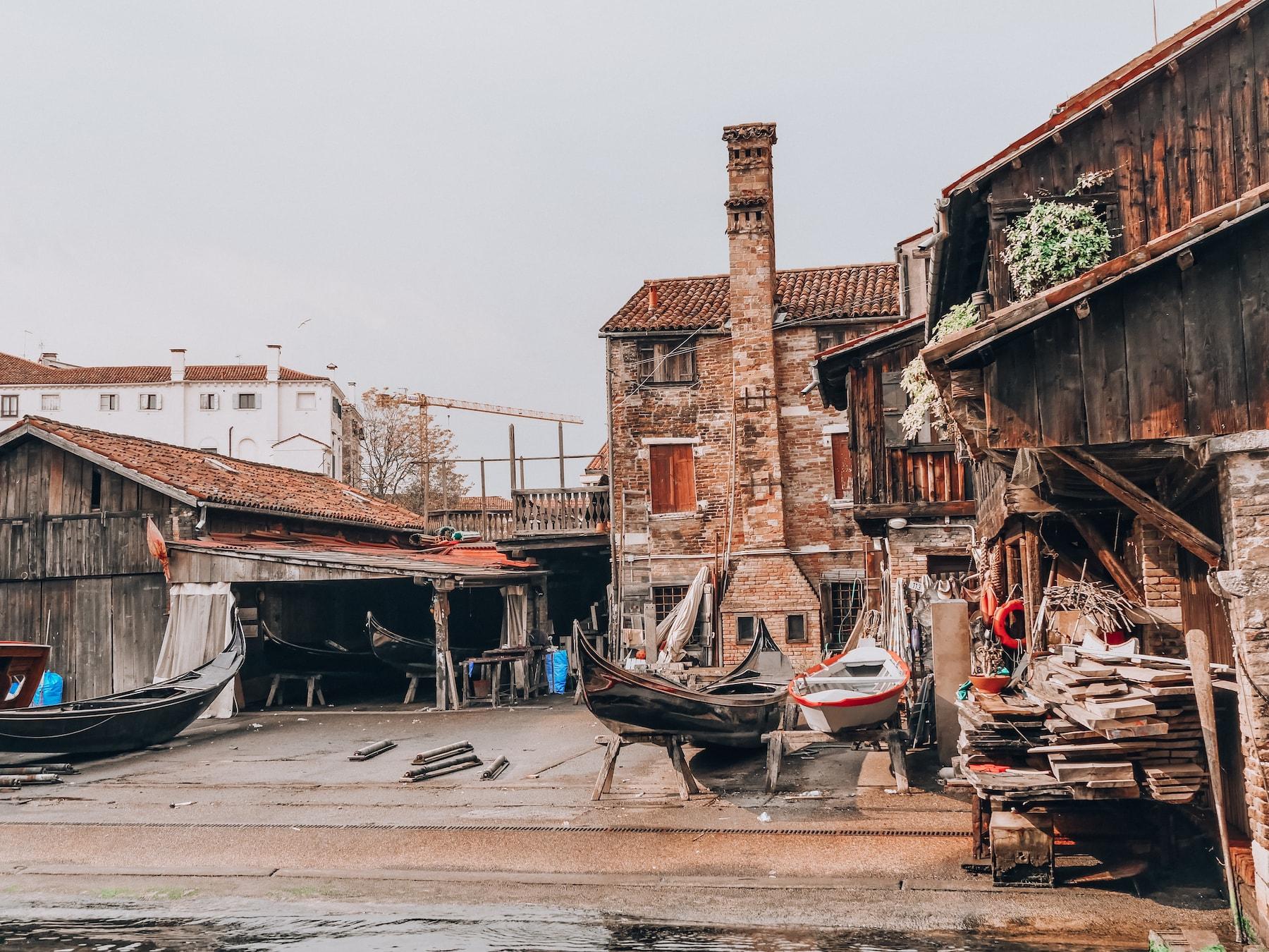quartier du Dorsoduro Venise