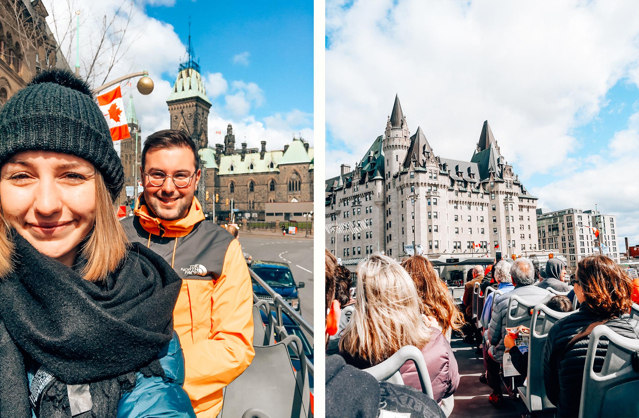 Vister Ottawa en bus
