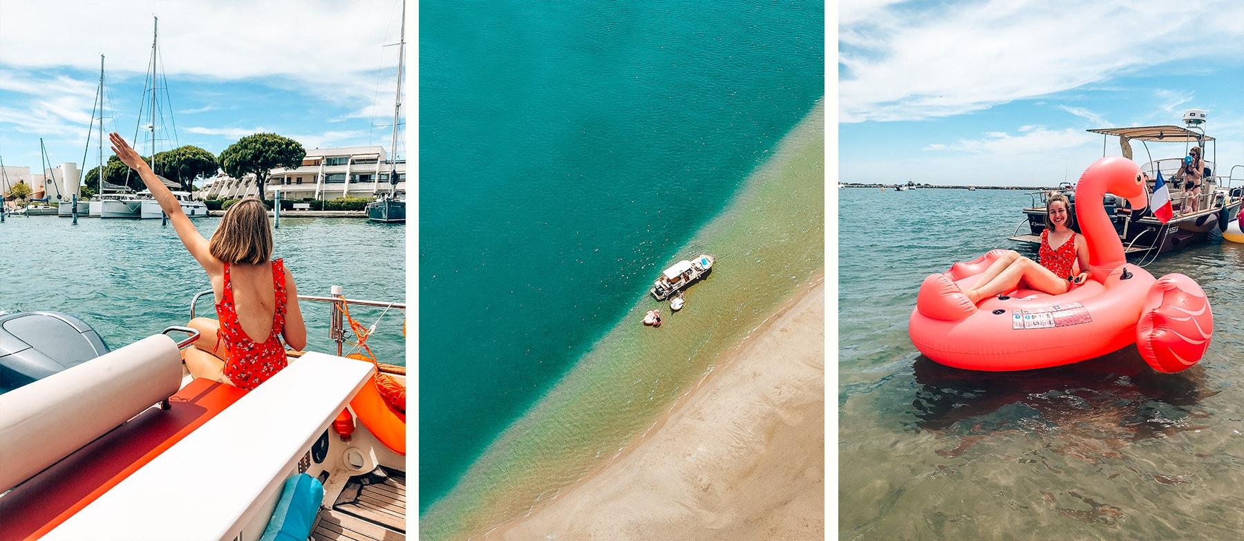evasion sur mer