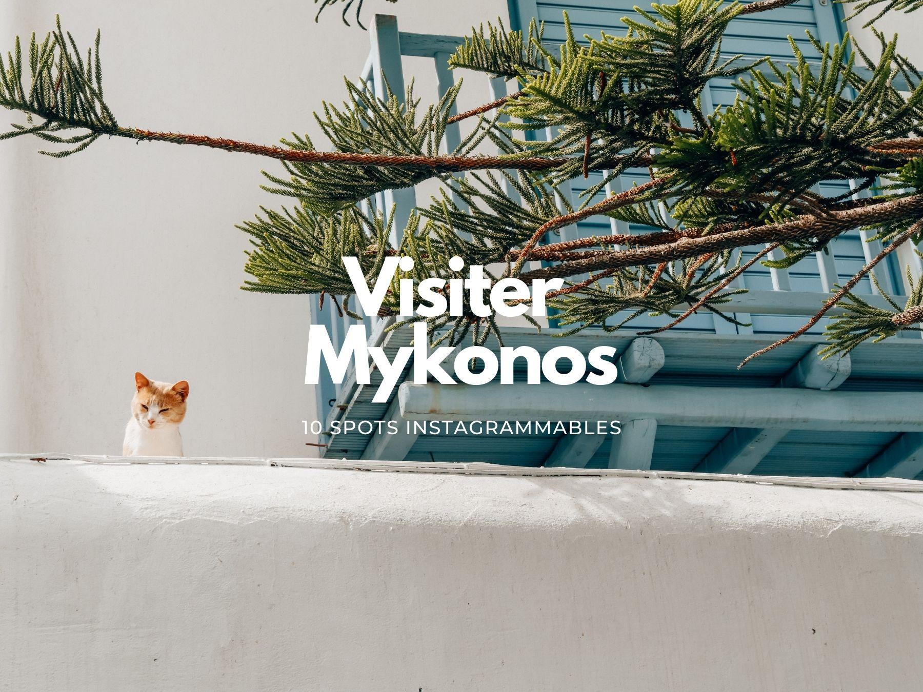 Instagrammables à Mykonos