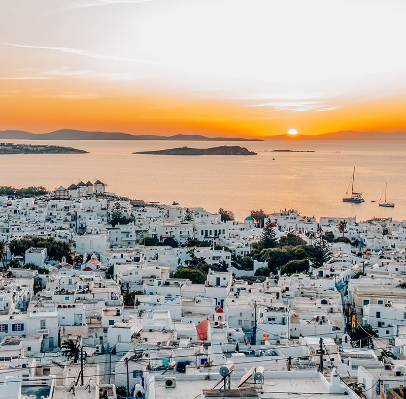 Visiter Mykonos