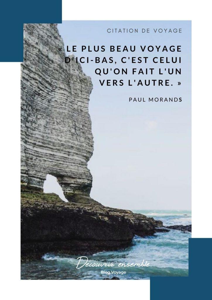 Phrases sur le voyage