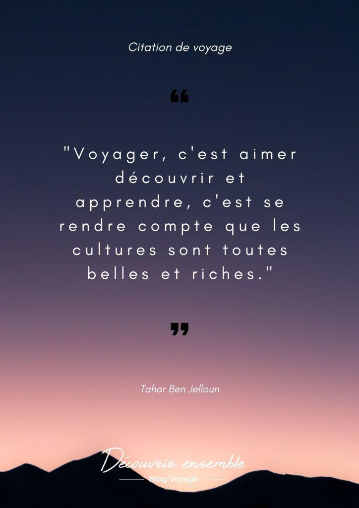 phrase de voyageurs