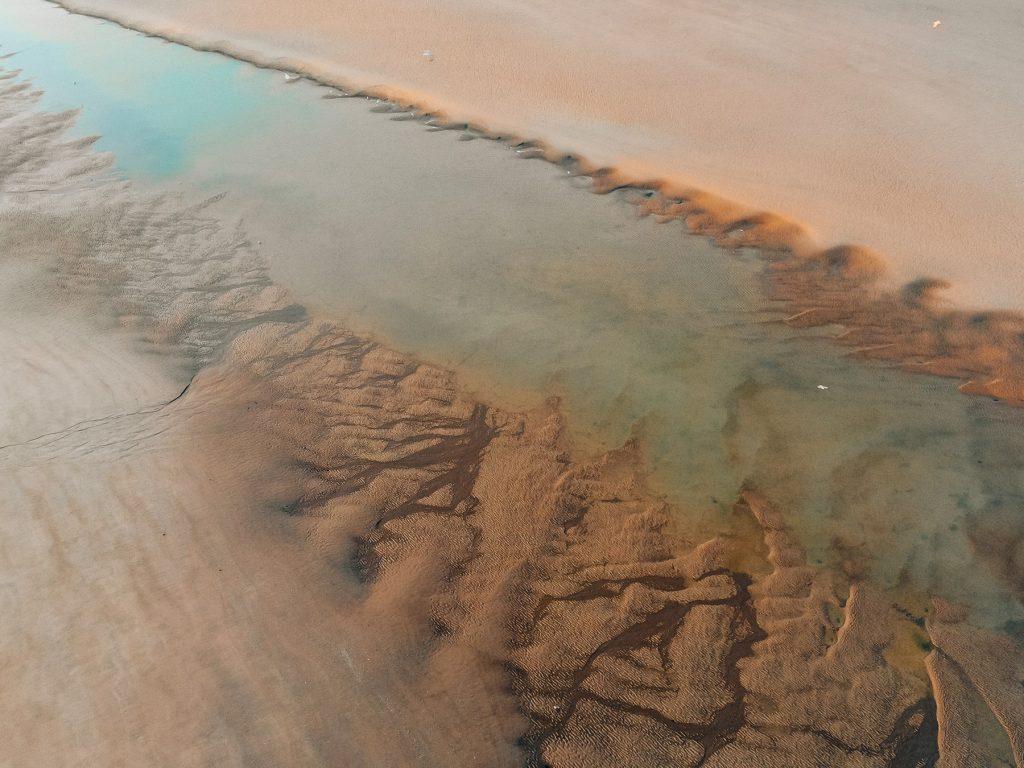 plage mer drone le touquet