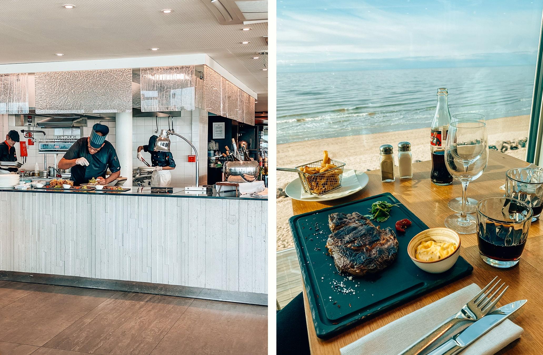 restaurant maison mer thalasso le touquet