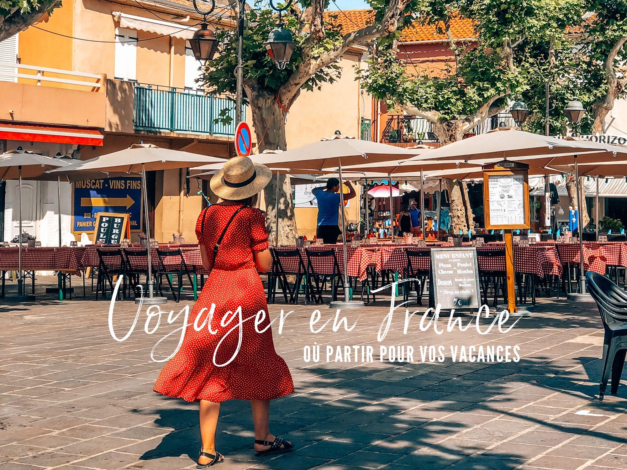 voyager en France cet été