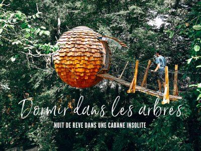 Dormir dans les arbres : Cabanes insolites à 1 heure de Paris