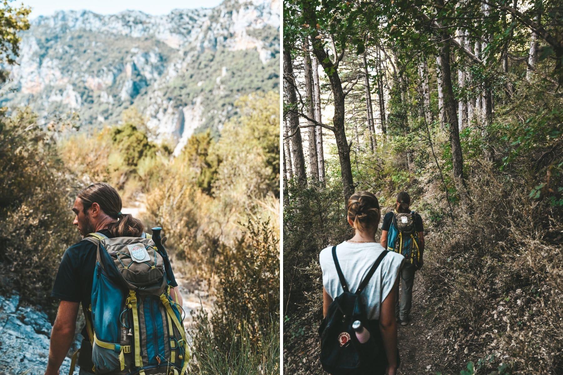 randonnée saint maurin
