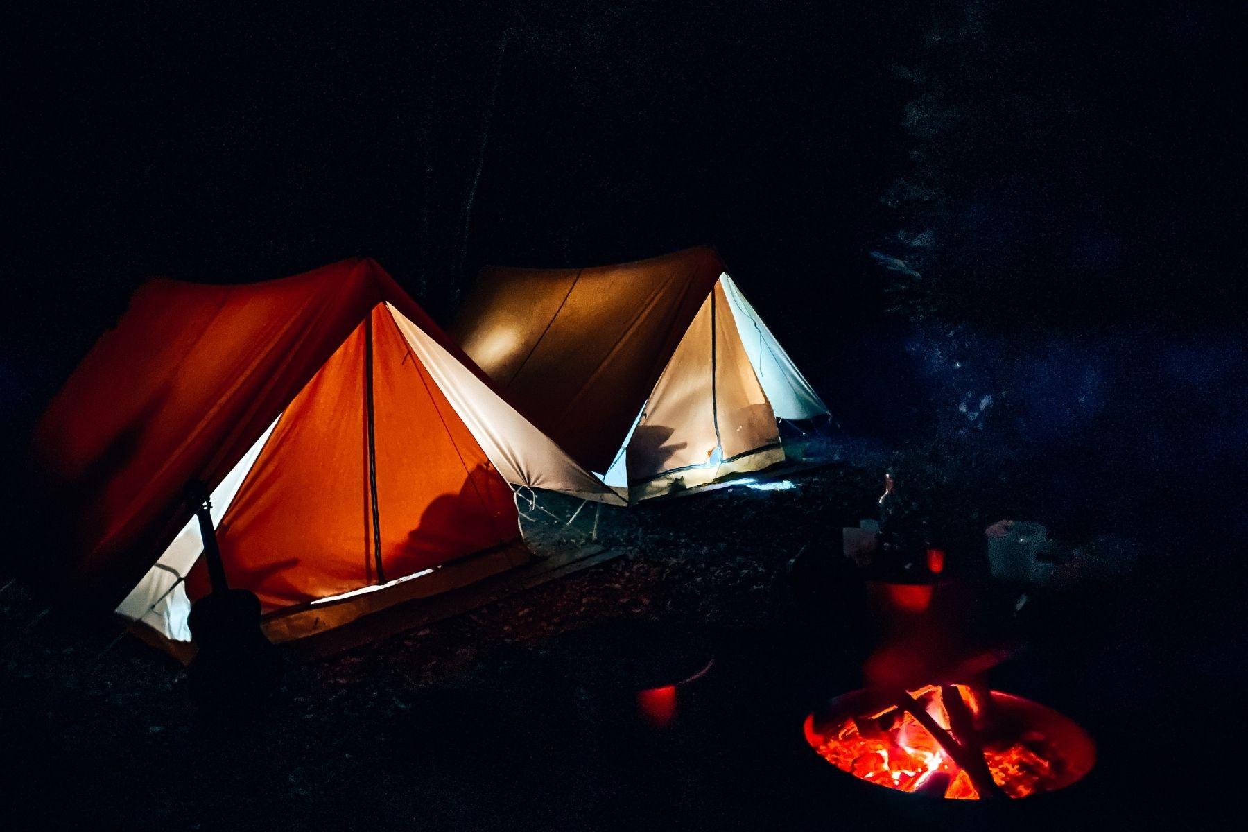 campement forêt