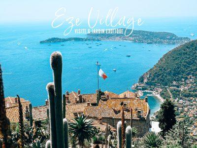 Eze village : A la découverte de ce petit village perché de Provence