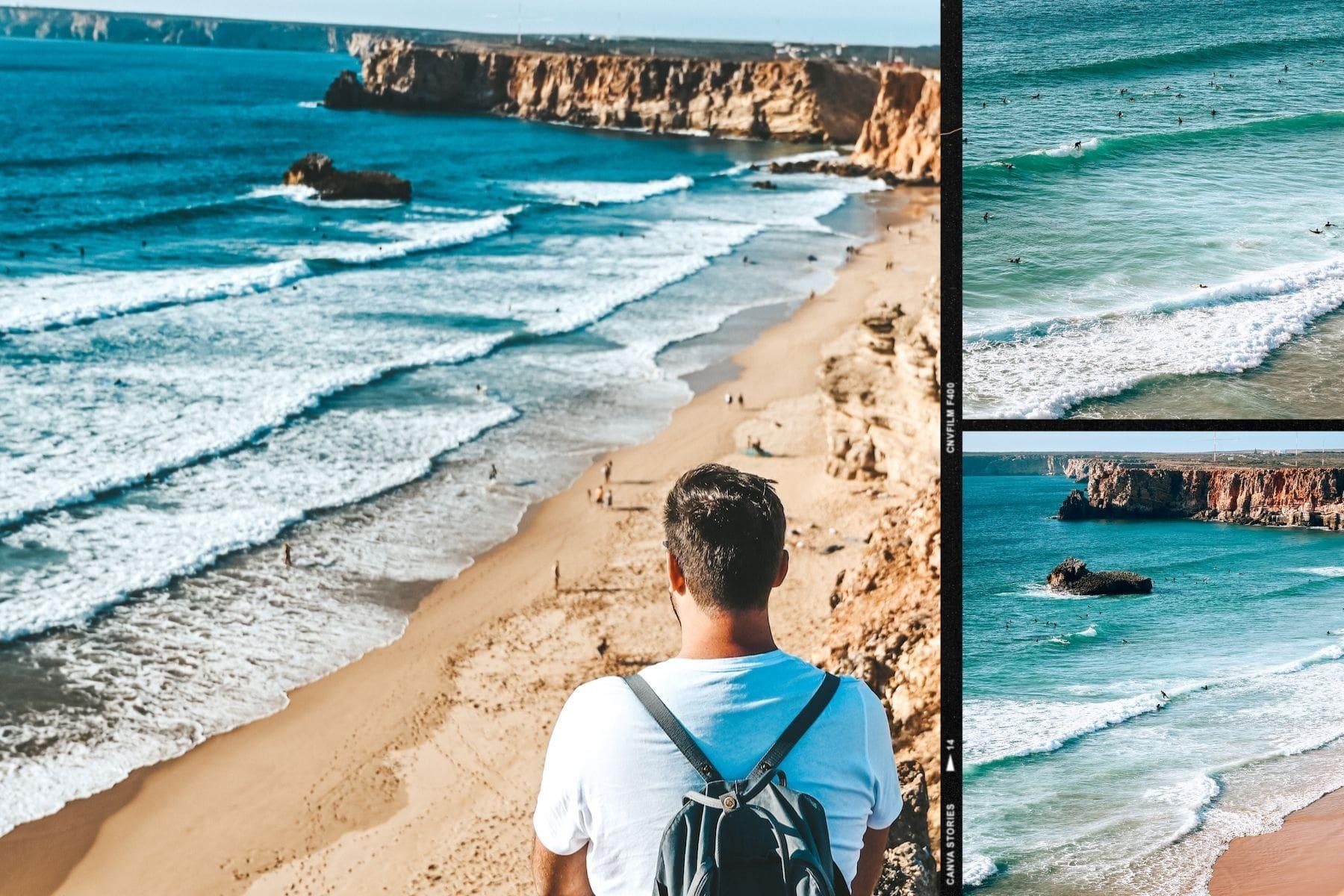 plage surf sagres