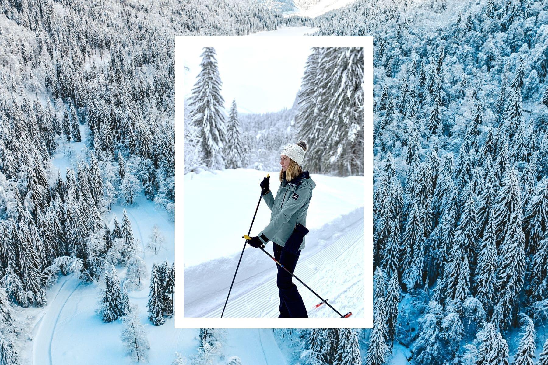 ski de fond morzine