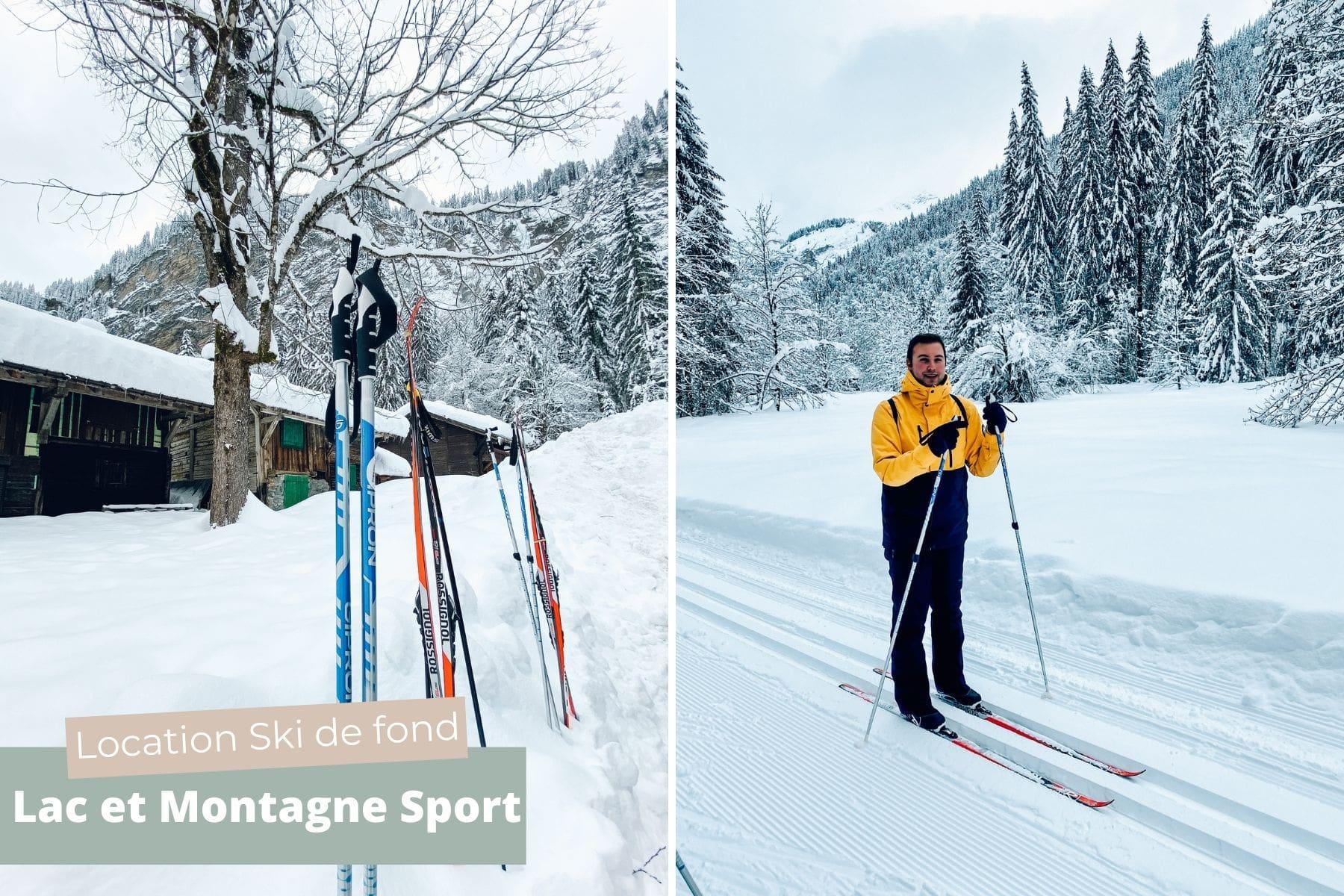 activite ski de fond