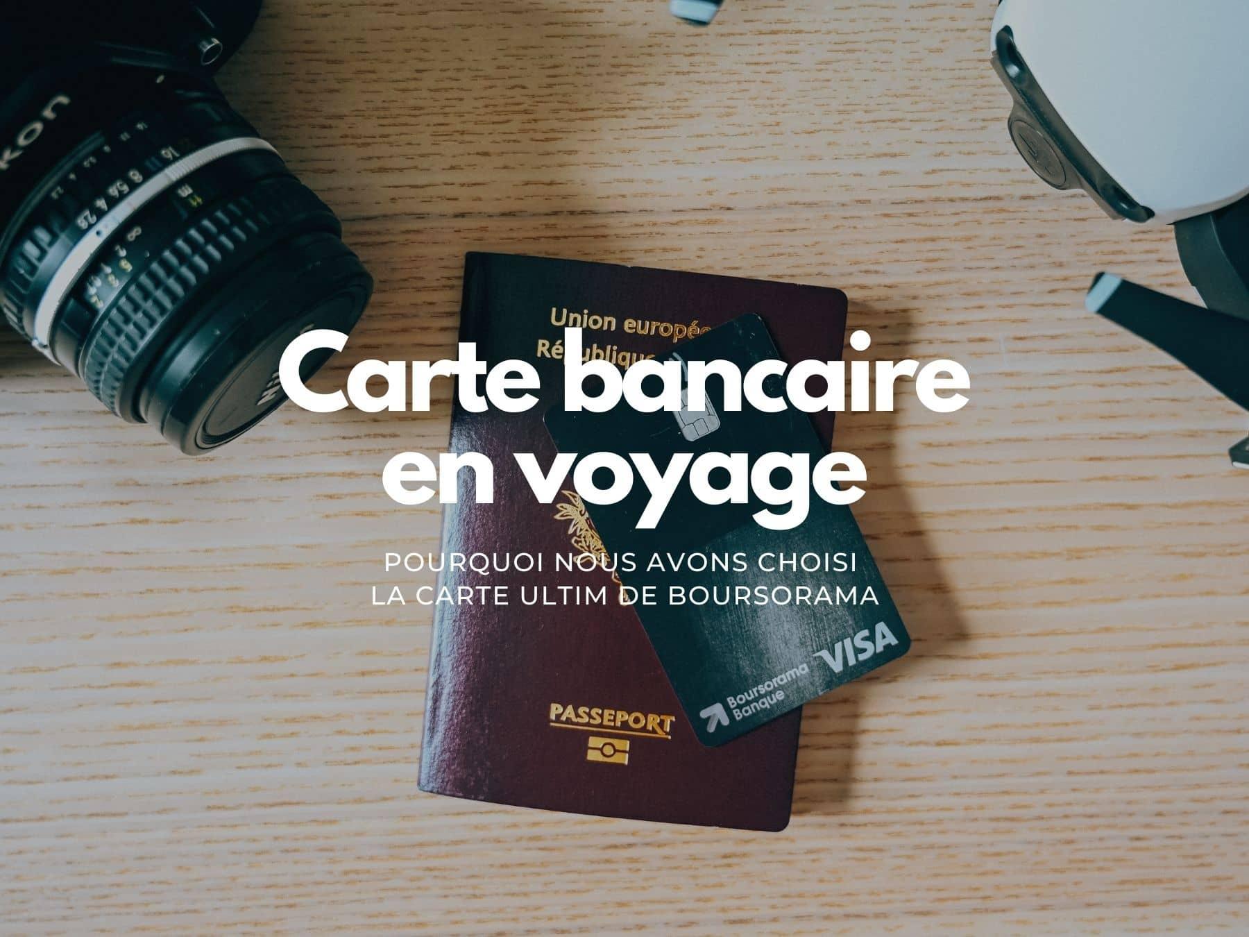 carte bancaire pour voyager