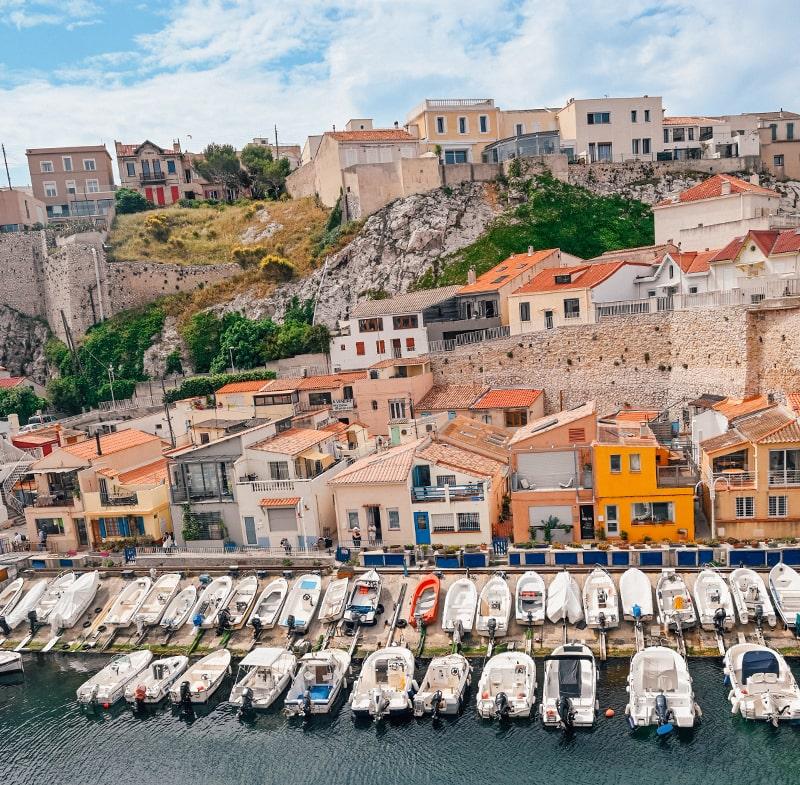 Marseille a pied