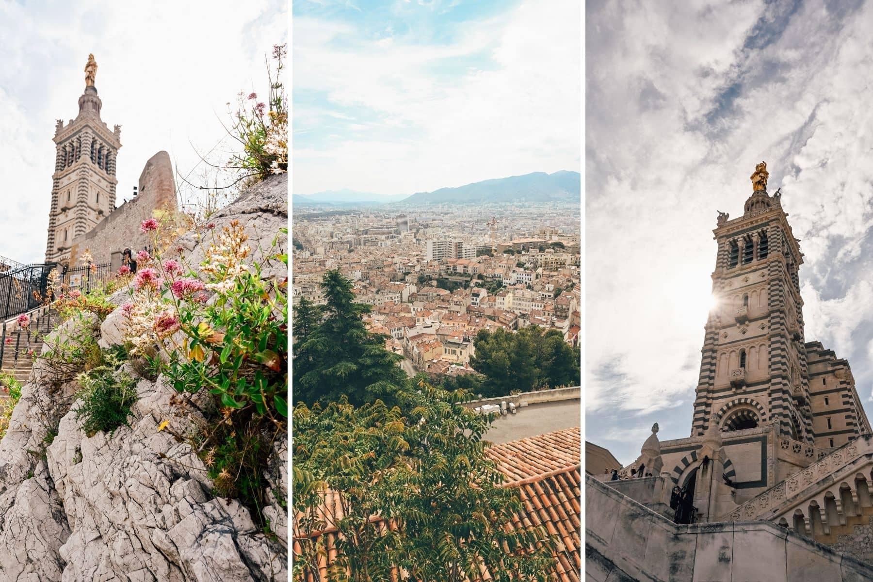 Basilique notre dame de la garde Marseille